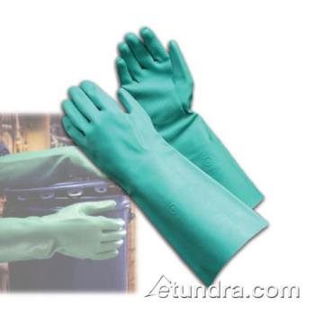 "PIN50N2250GL - PIP - 50-N2250G/L - 15"" Green Nitrile Gloves w/ Grip (L) Product Image"