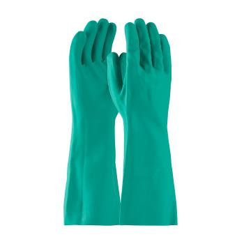 "PIN50N2250GM - PIP - 50-N2250G/M - 15"" Green Nitrile Gloves w/ Grip (M) Product Image"