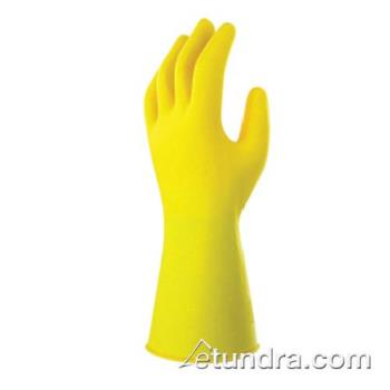 "PIN50N2420GYM - PIP - 50-N2420GY/M - 12"" Yellow 24 mil Nitrile Gloves w/ Grip (M) Product Image"