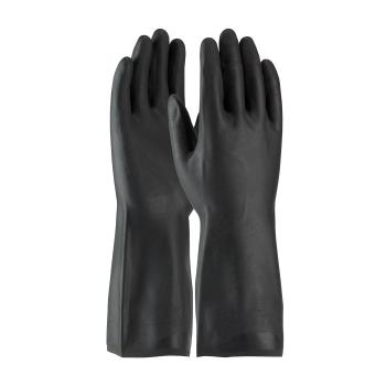 "PIN523665L - PIP - 52-3665/L - 12"" Black Neoprene Gloves w/ Grip (L) Product Image"