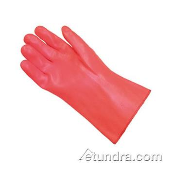 PIN587304 - PIP - 58-7304 - ProCoat Orange PVC Coated Gloves w/ Gauntlet Cuff (L) Product Image