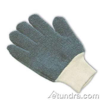 PIN42C750L - PIP - 42-C750/L - 24 oz Gray Terry Cloth Gloves (L) Product Image