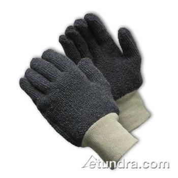 PIN42C753L - PIP - 42-C753/L - 18 oz Gray Terry Cloth Gloves (L) Product Image