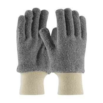 PIN42C753S - PIP - 42-C753/S - 18 oz Gray Terry Cloth Gloves (S) Product Image