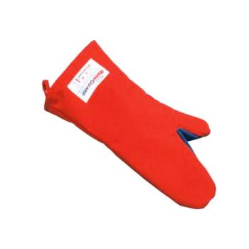 76374 - Tucker Safety - 56180 - BurnGuard 18 in Poly-Cotton Oven Mitt Product Image