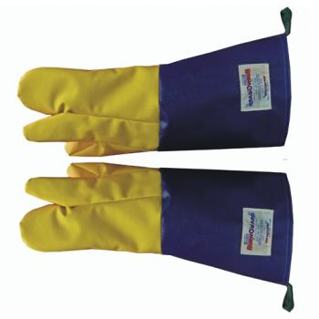 81569 - Tucker Safety - 57782 - BurnGuard 18 in QuicKlean 3-Finger Glove Product Image