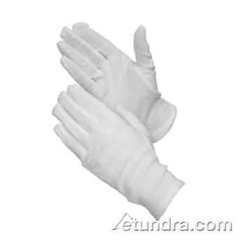 PIN130100WMNZL - PIP - 130-100WMNZ/L - White Cotton Dress Gloves w/ Out Stitching (L) Product Image