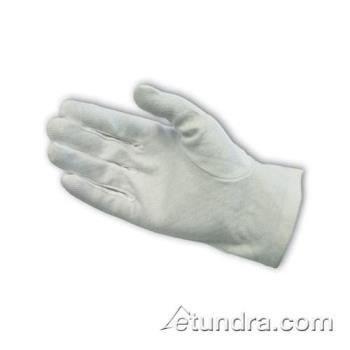 PIN130100WMPDS - PIP - 130-100WMPD/S - White Cotton Dress Gloves w/ Dotted Palm (S) Product Image