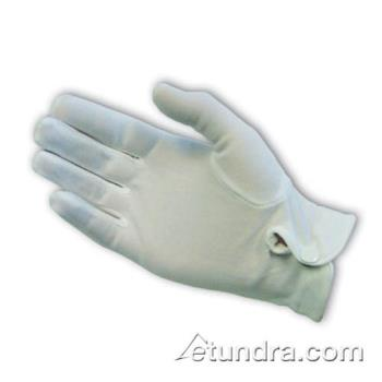 PIN130650WM - PIP - 130-650WM - Men's White Stretch Nylon Dress Gloves w/ Wrist Snap (L) Product Image