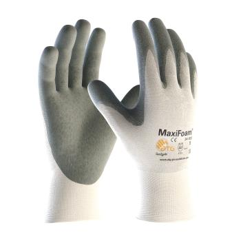 PIN34800S - PIP - 34-800/S - Maxifoam Gray Nitrile Coated Gloves (S) Product Image