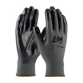PIN34C232XL - PIP - 34-C232/XL - G-Tek Black Foam Nitrile Coated Gloves (XL) Product Image