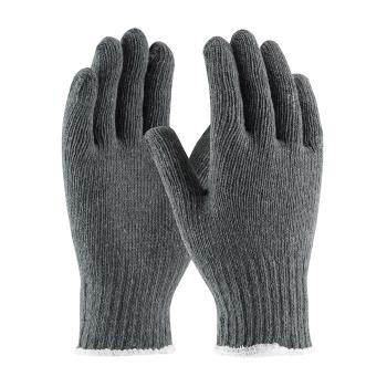 PIN35C500L - PIP - 35-C500/L - Gray Medium Weight Cotton/Polyester Gloves (L) Product Image