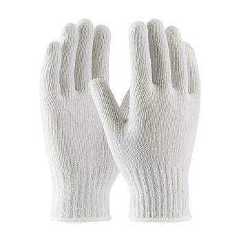 PIN35CB110L - PIP - 35-CB110/L - White Medium Weight Cotton/Polyester Gloves (L) Product Image