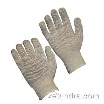 PIN36110PDDWTL - PIP - 36-110PDD-WT/L - White Cotton/Polyester Gloves w/ Dotted Coating (L) Product Image