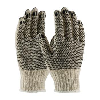 PIN36C330PDDL - PIP - 36-C330PDD/L - Heavy Weight Cotton/Polyester Gloves w/ Dotted Coating (L) Product Image