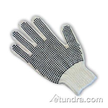 PIN37C110PDDL - PIP - 37-C110PDD/L - Medium Weight Cotton/Polyester Gloves w/ Dotted Coating (L) Product Image