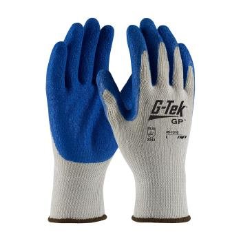 PIN391310M - PIP - 39-1310/M - G-Tek Blue Latex Coated Gloves (M) Product Image
