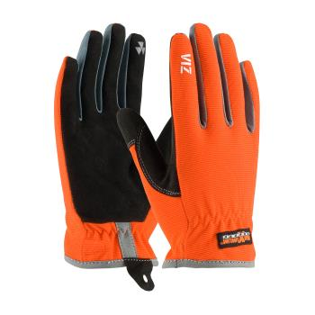 PIN1204600XXL - PIP - 120-4600/XXL - Viz Workman's Glove w/ Orange Spandex Back (2XL) Product Image