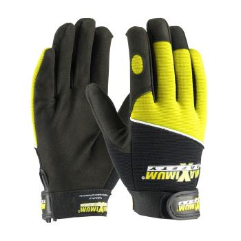 PIN120MX2820XL - PIP - 120-MX2820/XL - Black w/ Yellow Mechanic's Glove (XL) Product Image