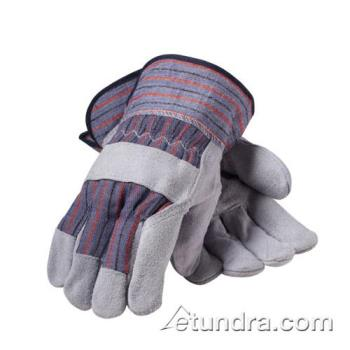 PIN857500P - PIP - 85-7500P - Men's Split Leather Palm Gloves w/ Safety Cuff (L) Product Image
