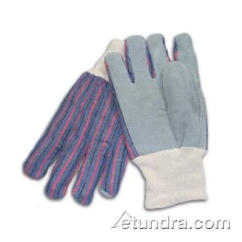 PIN864104 - PIP - 86-4104 - Men's Split Leather Palm Gloves w/ Knit Wrist (L) Product Image