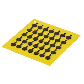 81791 - Lodge - AS7S21 - 7 in x 7 in Yellow Trivet Product Image