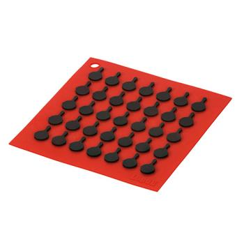 81792 - Lodge - AS7S41 - 7 in x 7 in Red Trivet Product Image