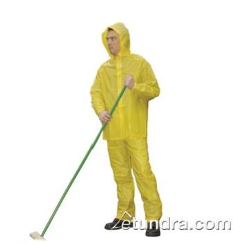 PIN201100L - PIP - 201-100L - Yellow PVC Rainsuit w/ Elastic Waist Pants (L) Product Image