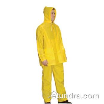PIN201250L - PIP - 201-250L - Yellow PVC Rainsuit w/ Bib Overalls (L) Product Image