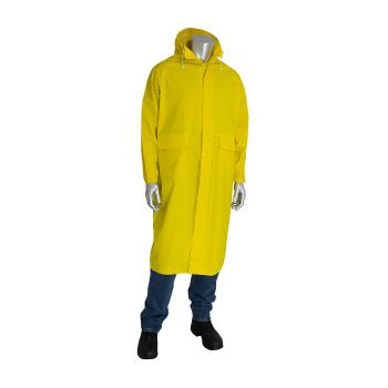 "PIN201300L - PIP - 201-300L - Yellow 48"" Raincoat (L) Product Image"