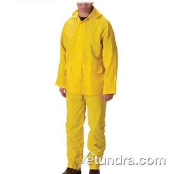 PIN201350X4 - PIP - 201-350X4 - Thick Yellow Rainsuit w/ Bib Overalls (XXXXL) Product Image