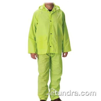 PIN201355X4 - PIP - 201-355X4 - Lime-Yellow Rainsuit w/ Bib Overalls (XXXXL) Product Image
