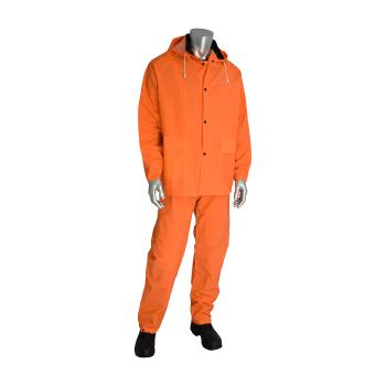 PIN201360X1 - PIP - 201-360X1 - Orange Rainsuit w/ Bib Overalls (XL) Product Image