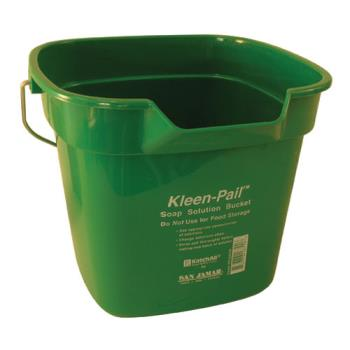 83204 - San Jamar - KP320GN - 10 qt Kleen-Pail® Green Cleaning Bucket Product Image