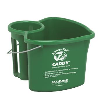 SANKP550GN - San Jamar - KP550GN - Kleen-Pail® Caddy Product Image