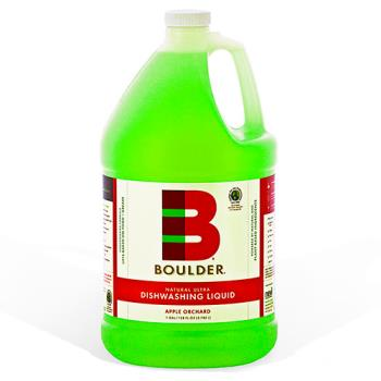 58192 - Boulder Clean - NEW-DISH-A-1G-4CS - BOULDER® Apple Orchard Dishwashing Liquid Product Image