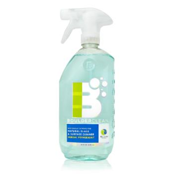 58370 - Boulder Clean - NEW-GLASS-28-6CS - BOULDER® Peppermint Glass Surface Cleaner Product Image