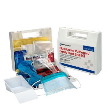 FAO214UFAO - First Aid Only - 214-U/FAO - Wall Mount Bodily Fluid Spill Kit Product Image