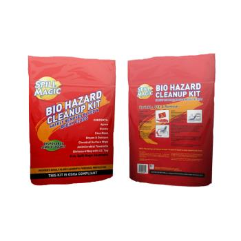 56239 - First Aid Only - SM-BIOHAZARD - Spill Magic Bio Hazard Clean-Up Kit Product Image