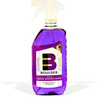 NBCNEWGRANITE24 - Boulder Cleaners - NEW-GRSS-28-6CS - BOULDER® Lavender Vanilla Granite + Stainless Steel Cleaner Product Image