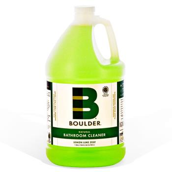 58881 - Boulder Clean - NEW-BATH-1G-4CS - BOULDER® Lemon Lime Zest Bathroom Cleaner Product Image