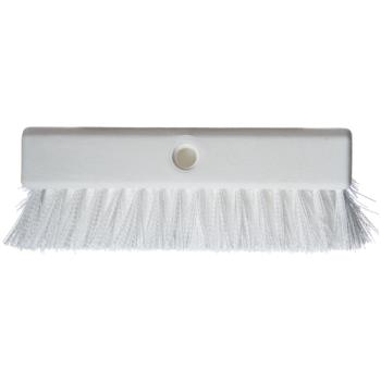 83096 - Carlisle - 4042302 - 10 in Sparta® Hi-Lo™ White Floor Scrub Brush Product Image