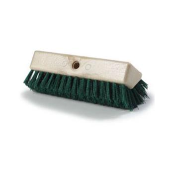 1716 - Carlisle - 4042309 - 10 in Green Sparta® Hi-Lo™ Floor Scrub Brush Head Product Image