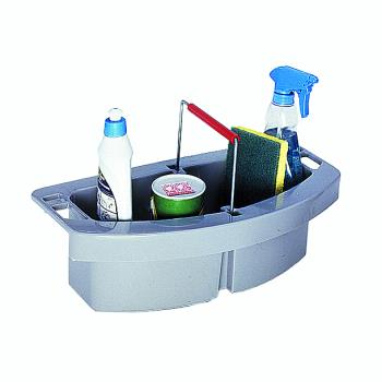 36130 - Rubbermaid - FG264900GRAY - Gray BRUTE® Janitorial Caddy Product Image