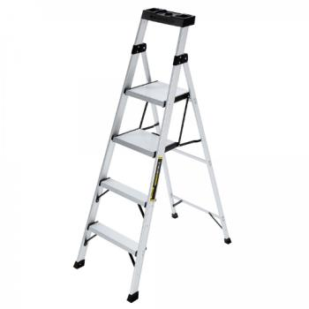 78207 - Commercial - 5.5 ft Aluminum Hybrid Ladder with 250 lb Load Capacity Product Image