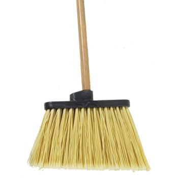 83244 - Carlisle - 3686700/362010400 - 12 in Duo-Sweep® Broom Head w/ 48 in Handle Product Image