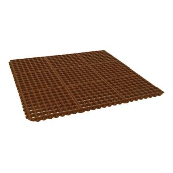 51220 - Cactus Mat Co. - 2523-R - 3 ft x 3 ft Red Floor Mat Product Image
