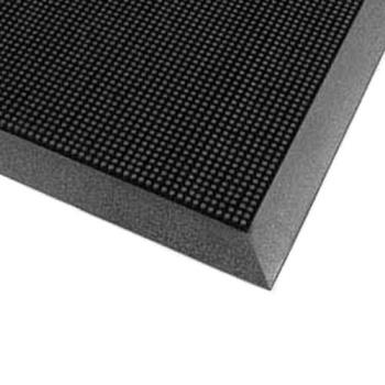 51189 - Cactus Mat Co. - 35-2432 - 2 ft x 2 3/4 ft Black Fingertop Mat Product Image