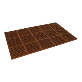 51283 - Cactus Mat Co. - 3525R1 - 3 ft x 5 ft x 7/8 in Red Floor Mat Product Image