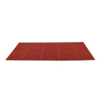 51223 - Commercial - 3 ft x 5 ft x 1/2 in Red Floor Mat Product Image